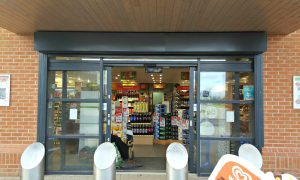 Shop frontfit outs with aluminium finish